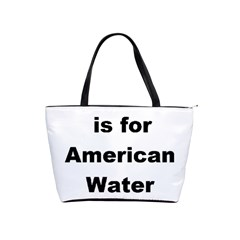 A Is For American Water Spaniel Shoulder Handbags