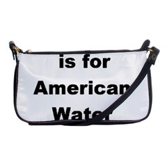 A Is For American Water Spaniel Shoulder Clutch Bags