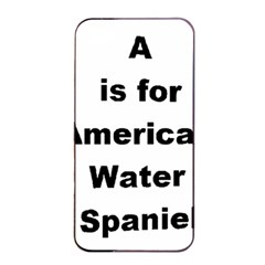 A Is For American Water Spaniel Apple Iphone 4/4s Seamless Case (black)