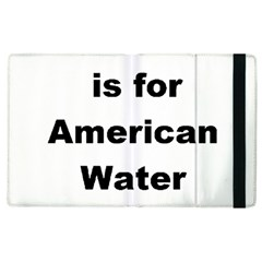 A Is For American Water Spaniel Apple Ipad 2 Flip Case