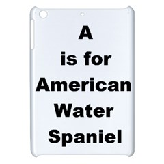 A Is For American Water Spaniel Apple Ipad Mini Hardshell Case