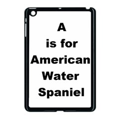 A Is For American Water Spaniel Apple Ipad Mini Case (black)