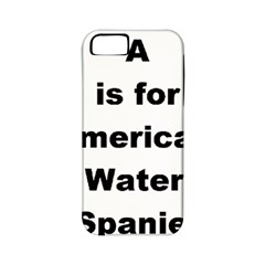 A Is For American Water Spaniel Apple Iphone 5 Classic Hardshell Case (pc+silicone)