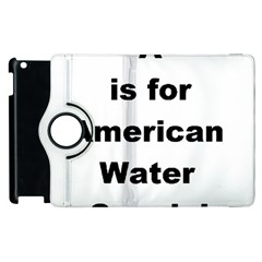 A Is For American Water Spaniel Apple Ipad 2 Flip 360 Case