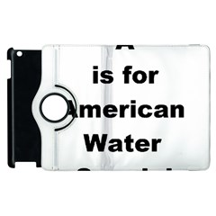 A Is For American Water Spaniel Apple Ipad 3/4 Flip 360 Case