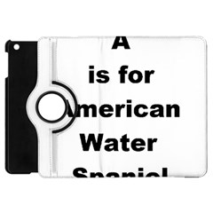 A Is For American Water Spaniel Apple Ipad Mini Flip 360 Case