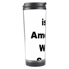 A Is For American Water Spaniel Travel Tumbler