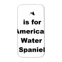 A Is For American Water Spaniel Samsung Galaxy S4 I9500/i9505  Hardshell Back Case
