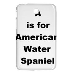 A Is For American Water Spaniel Samsung Galaxy Tab 3 (7 ) P3200 Hardshell Case