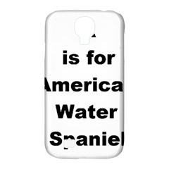 A Is For American Water Spaniel Samsung Galaxy S4 Classic Hardshell Case (pc+silicone)