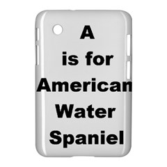 A Is For American Water Spaniel Samsung Galaxy Tab 2 (7 ) P3100 Hardshell Case