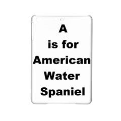 A Is For American Water Spaniel Ipad Mini 2 Hardshell Cases