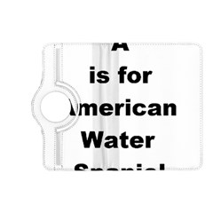 A Is For American Water Spaniel Kindle Fire Hd (2013) Flip 360 Case