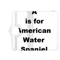 A Is For American Water Spaniel Kindle Fire Hdx 8 9  Flip 360 Case