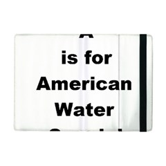 A Is For American Water Spaniel Ipad Mini 2 Flip Cases