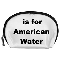 A Is For American Water Spaniel Accessory Pouches (large)