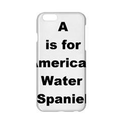 A Is For American Water Spaniel Apple Iphone 6/6s Hardshell Case