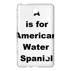A Is For American Water Spaniel Samsung Galaxy Tab 4 (7 ) Hardshell Case