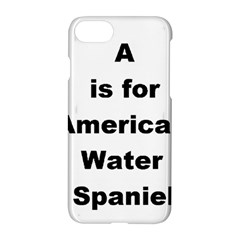A Is For American Water Spaniel Apple Iphone 7 Hardshell Case