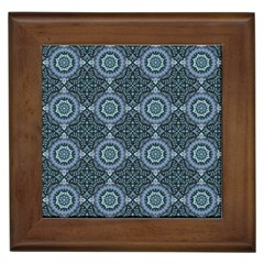 Oriental Pattern Framed Tiles