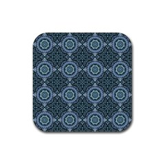 Oriental Pattern Rubber Coaster (square)