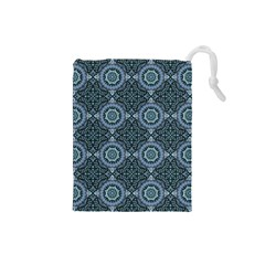 Oriental Pattern Drawstring Pouches (small)