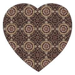 Oriental Pattern Jigsaw Puzzle (heart)