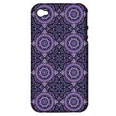 Oriental Pattern Apple Iphone 4/4s Hardshell Case (pc+silicone)