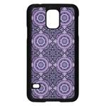 Oriental pattern Samsung Galaxy S5 Case (Black) Front