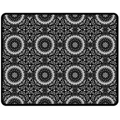 Oriental Pattern Fleece Blanket (medium)