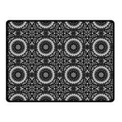 Oriental Pattern Double Sided Fleece Blanket (small)