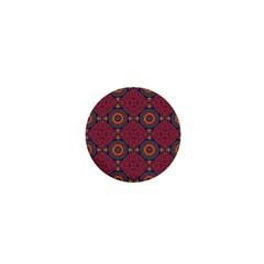 Oriental Pattern 1  Mini Buttons