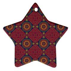 Oriental Pattern Ornament (star)