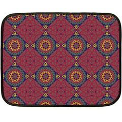 Oriental Pattern Fleece Blanket (mini)