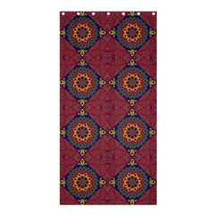 Oriental Pattern Shower Curtain 36  X 72  (stall)