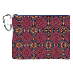 Oriental Pattern Canvas Cosmetic Bag (xxl)