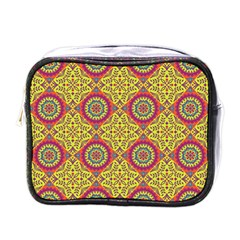 Oriental Pattern Mini Toiletries Bags