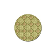 Oriental Pattern Golf Ball Marker (4 Pack)
