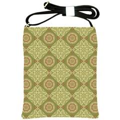 Oriental Pattern Shoulder Sling Bags