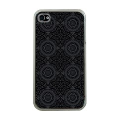 Oriental Pattern Apple Iphone 4 Case (clear)