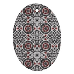 Oriental Pattern Ornament (oval)