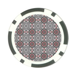 Oriental Pattern Poker Chip Card Guard (10 Pack)