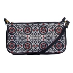Oriental Pattern Shoulder Clutch Bags