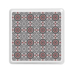 Oriental Pattern Memory Card Reader (square)