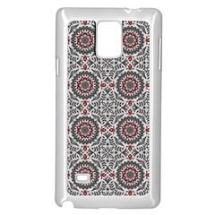 Oriental Pattern Samsung Galaxy Note 4 Case (white)