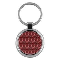 Oriental Pattern Key Chains (round)
