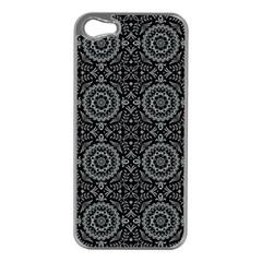 Oriental Pattern Apple Iphone 5 Case (silver)