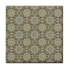 Oriental Pattern Face Towel