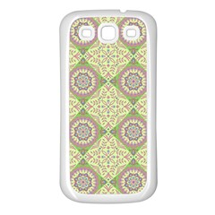 Oriental Pattern Samsung Galaxy S3 Back Case (white)