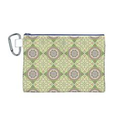 Oriental Pattern Canvas Cosmetic Bag (m)